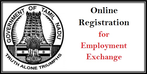 Online Registration for Employment Exchange in Tamil Nadu